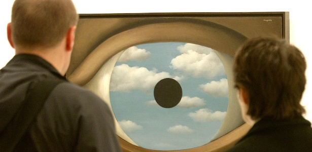 """""""The False Mirror"""" é uma das obras em exposição no MoMA - Arnd Wiegmann/Reuters"""