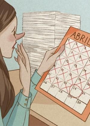 Atrasar as tarefas ou deixar de cumprir o que foi solicitado