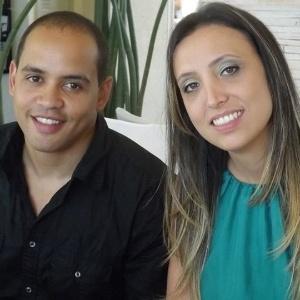 Thiago Luiz e Pâmela estão casados há dois anos e o salário dela cobre a maior parte das despesas  - Arquivo Pessoal