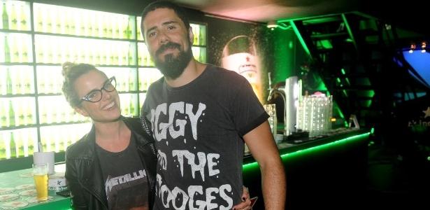 A atriz Natallia Rodrigues e o músico Tchello estão separados