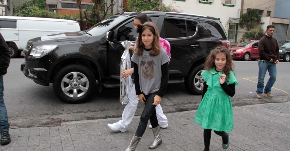19.set.2013 - filhas de rodrigo faro