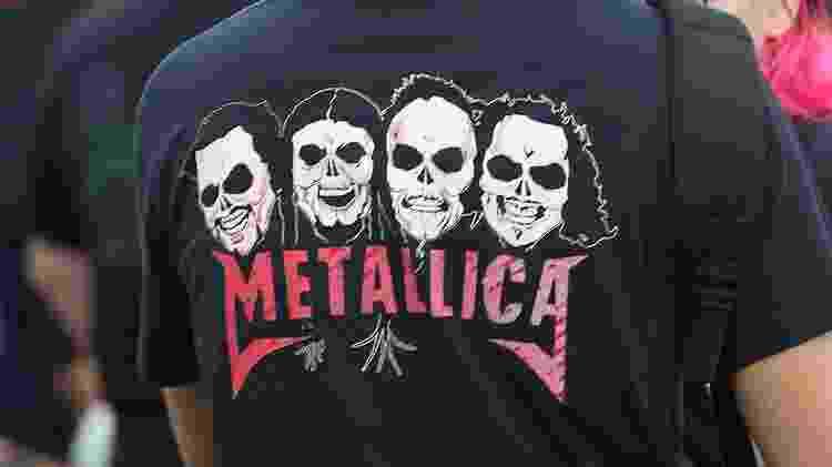 Metallica - Marco Antônio Teixeira/UOL - Marco Antônio Teixeira/UOL