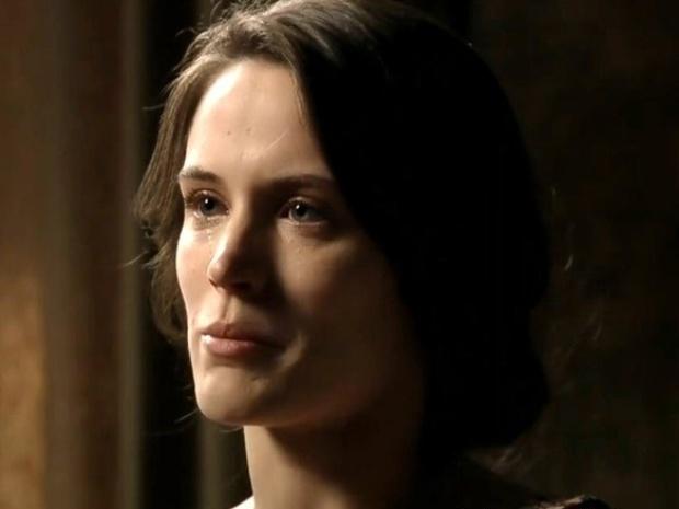 """Em """"Joia Rara"""", Ernest diz que só tirará Mundo da prisão se ela se afastar de Franz"""