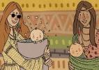 Maternidade alternativa não é moda - Paola Saliby/UOL