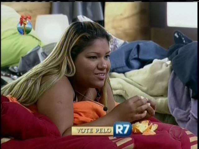 20.set.2013 - Yani de Simone criticou Denise e disse sentir que vai ser eliminada de
