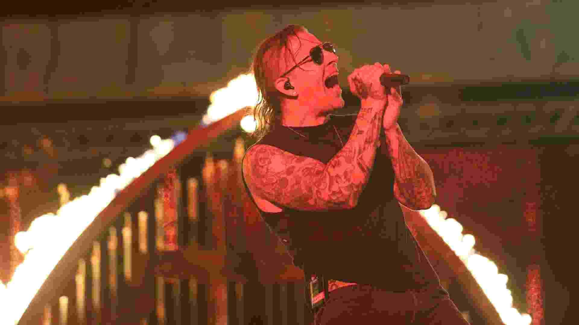 22.set.2013 - Avenged Sevenfold faz o penúltimo show do Rock in Rio 2013 no Palco Mundo - Marco Antônio Teixeira/UOL
