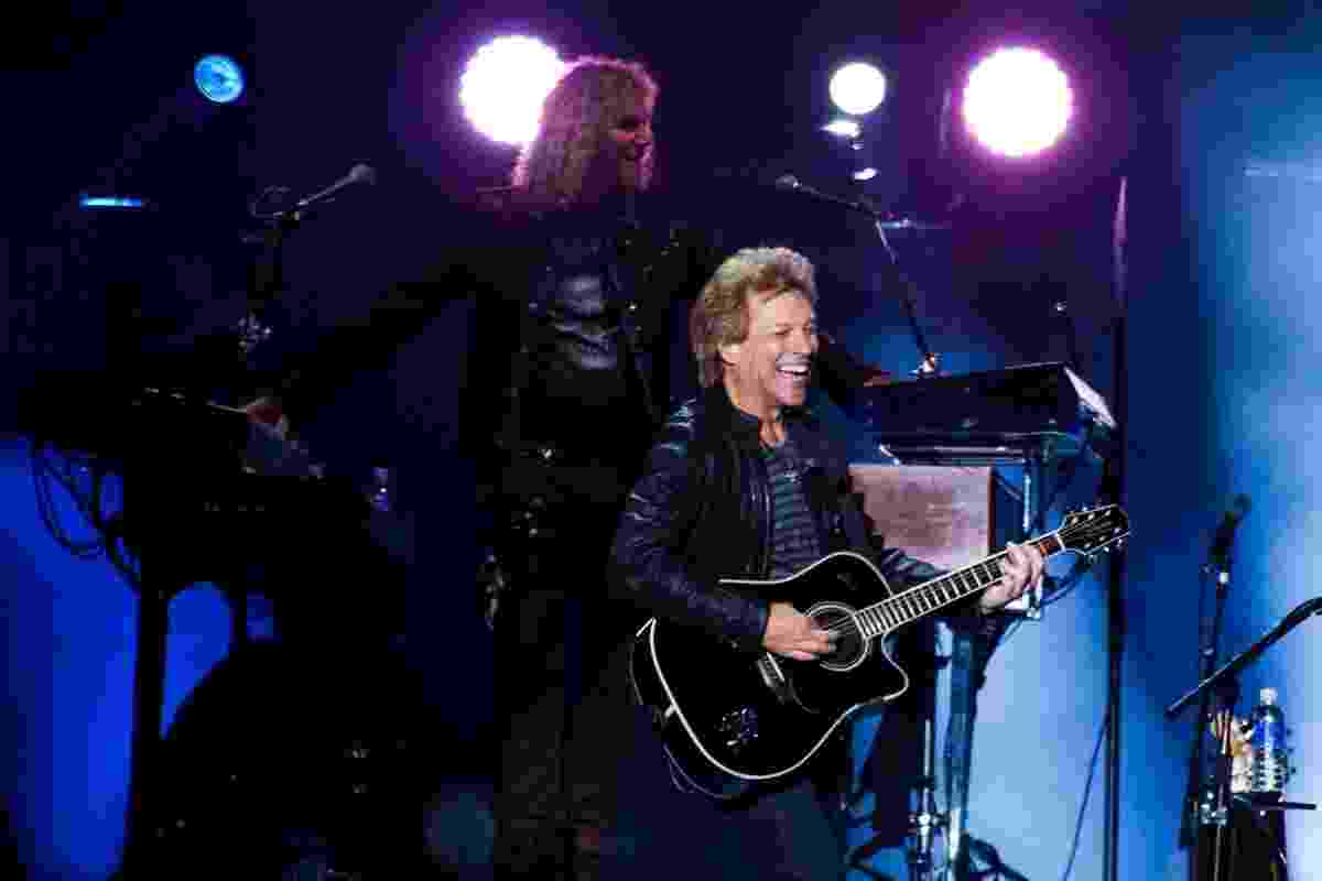 22.set.2013 - Depois do Rock in Rio, Bon Jovi se apresenta no estádio do Morumbi, em São Paulo - Manuela Scarpa/Foto Rio News