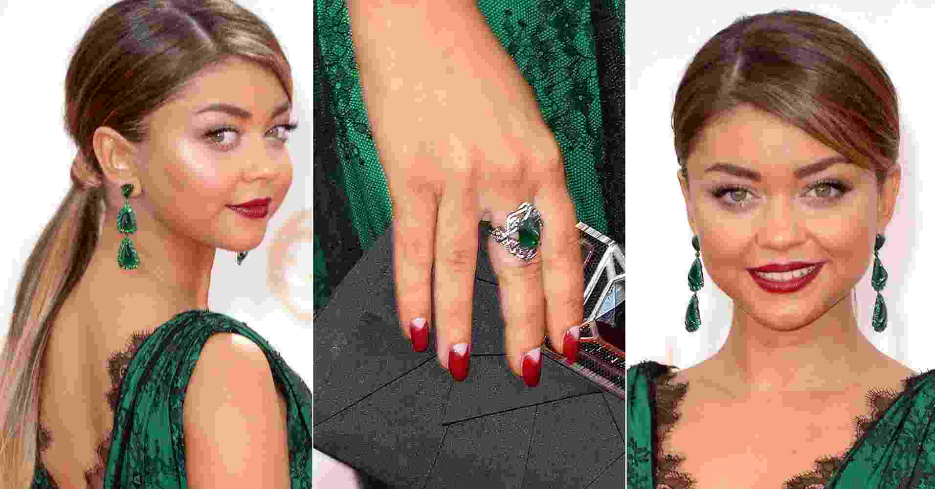Looks inspiradores - Emmy 2013 - Sarah Hylland - Getty Images