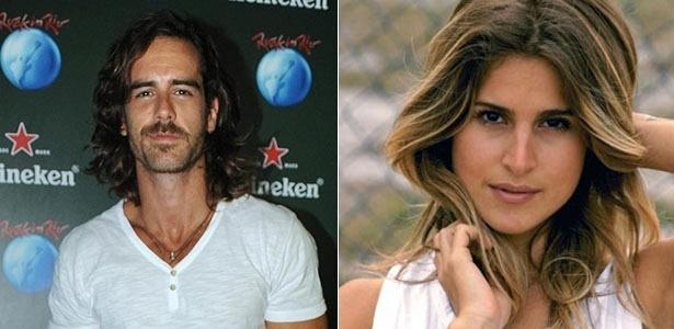 Os atores Marcos Pitombo e Valentina Seabra