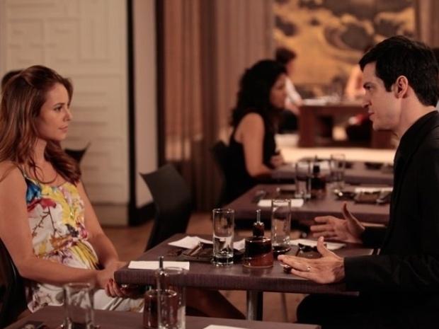 """Em """"Amor à Vida"""", Paloma dá fora em Félix e se recusa a ficar contra César"""