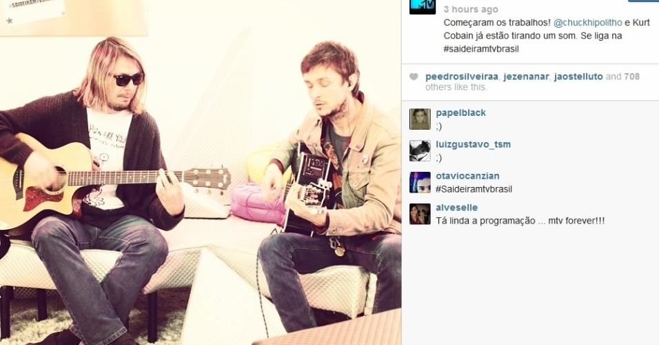 26.set.2013- Última transmissãoao vivo da MTV aconteceu nesta quinta-feira