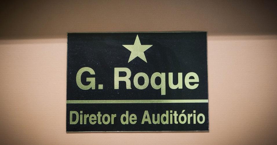 24.set.2013 - Há 58 anos trabalhando com Silvio Santos, Roque é responsável por cuidar de cerca de 2 mil pessoas que passam pelos estúdios do SBT por semana