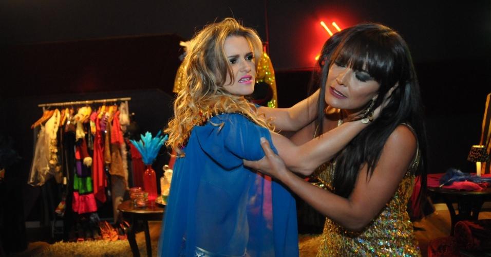 """Em """"Pecado Mortal"""", Laura e Xuxu brigam"""