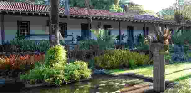 Fachada da Casa-Museu do Sítio Burle Marx no Rio de Janeiro - Divulgação - Divulgação