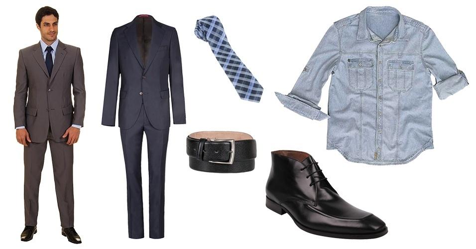 O tipo de combinação que você escolhe é o que define seu estilo. Homens  modernos c5aa6e7373