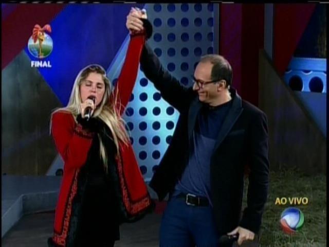 29.set.2013 - Bárbara Evans ao vencer