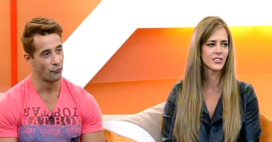 30.set.2013 - Denise Rocha e Marcos Oliver, segunda e terceiro colocados em