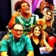 Scheila ganha troféu de peoa mais bonita; Paulo Nunes de o mais fofoqueiro - Reprodução/Instagram