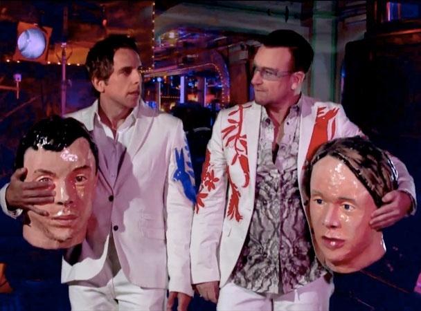 Ben Stiller e Bono participam do curta do Arcade Fire