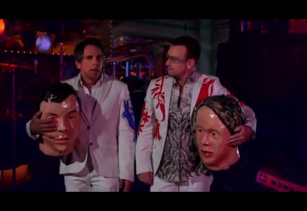 Ben Stiller e Bono participam do novo vídeo do Arcade Fire