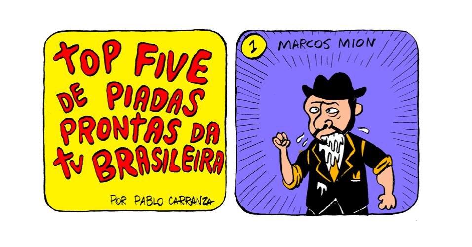 2.out.2013 - Em primeiro lugar, no ranking das piadas prontas da TV brasileira