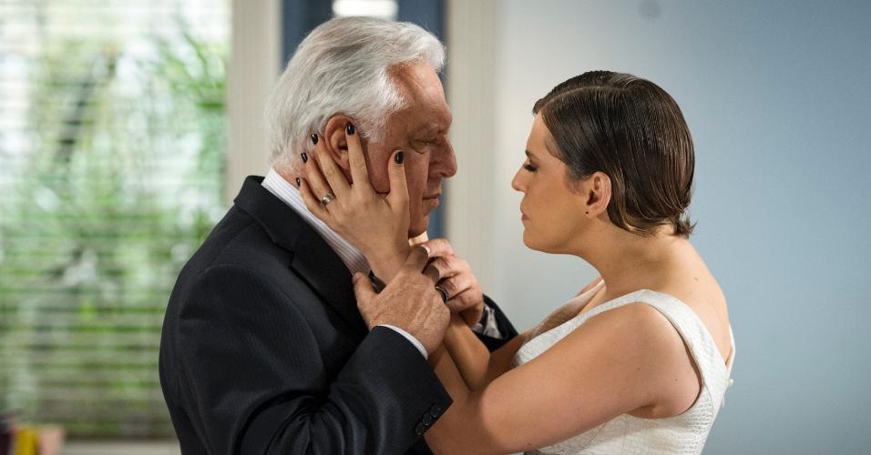 """Em """"Amor à Vida"""", Edith confessa que podia ter amado César"""