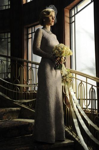 Iolanda se casa em Joia Rara com vestido inspirado em Kate Middleton