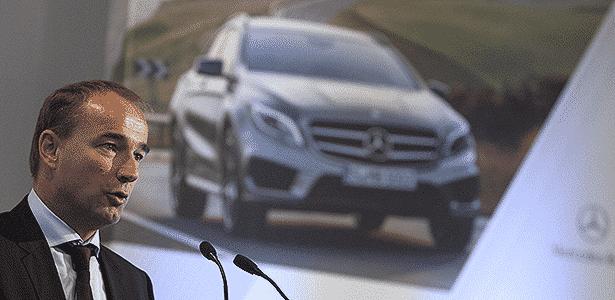 Philipp Schiemer, presidente da Mercedes-Benz no Brasil  - EFE - EFE