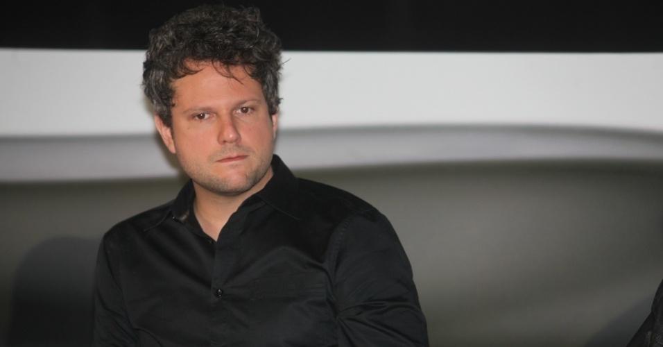 """2.out.2013 - Selton Mello, diretor de """"Sessão de Terapia"""", apresenta segunda temporada da série do GNT durante evento em São Paulo"""