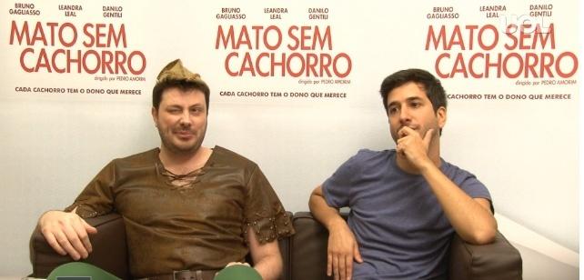 Danilo Gentili e Pedro Amorim promovem