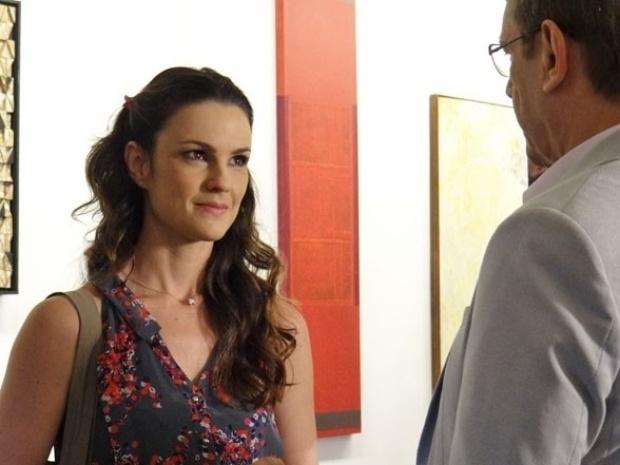"""Em """"Amor à Vida"""", Gina recusa beijo de Herbert ao ter sensação estranha"""