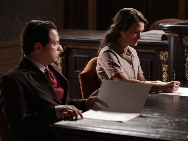 """Em """"Joia Rara"""", Amélia e Franz oficializam separação"""