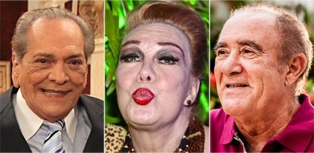 Lúcio Mauro, Rogéria e Renato Aragão serão homenageados