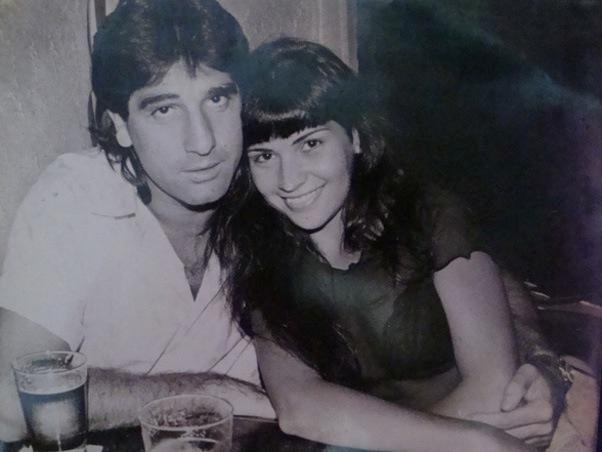1995 - Renato Gaúcho e Solange Gomes viveram um romance de sete meses em 1995