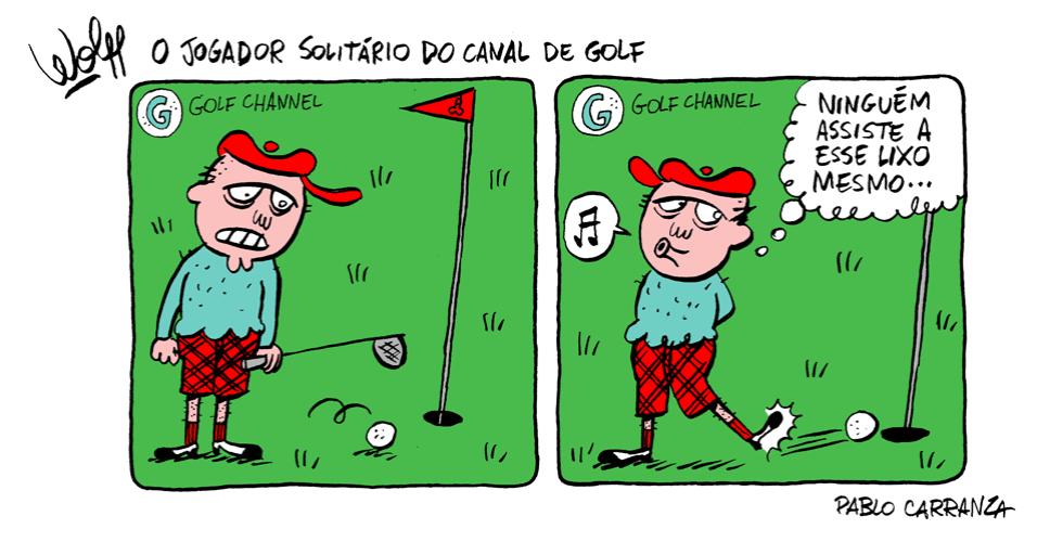 4.out.2013 - O jogador solitário do canal de golfe