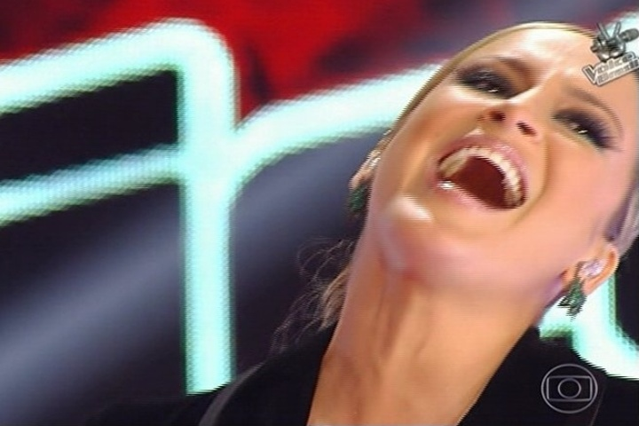 "3.out.2013 - Claudia Leitte se apresenta na estreia da segunda temporada ""The Voice Brasil"""
