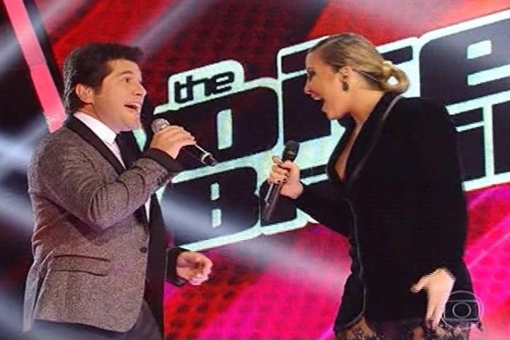 3.out.2013 - Daniel e Claudia Leitte se apresentam na estreia da segunda temporada