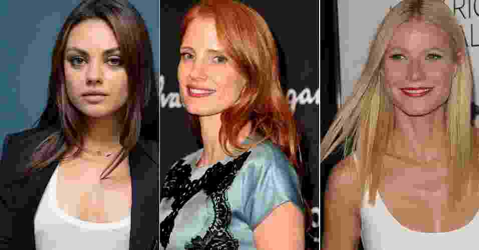 Mila Kunis, Jessica Chastain, Gwyneth Paltrow - Getty Images