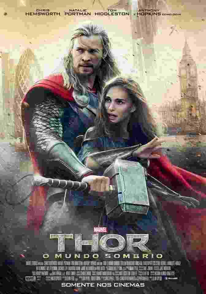 """Novo pôster brasileiro do filme """"Thor: O Mundo Sombrio"""" - Divulgação"""