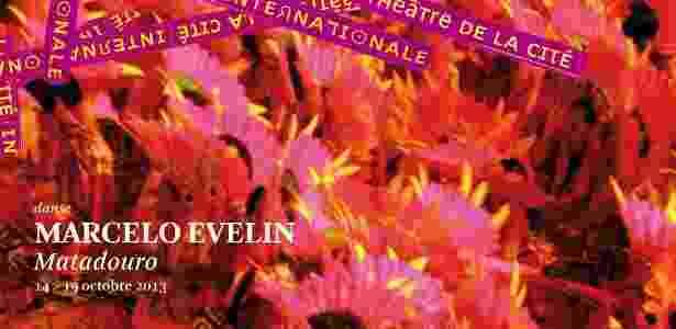"""Peça de divulgação do espetáculo """"Matadouro"""", de  Marcelo Evelin, presente no Festival de Outono em Paris. - Divulgação"""