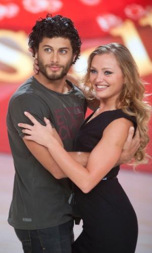 """4.out.2013 - Jesus Luz participa das gravações do programa """"Dancing With the Stars"""", na Itália. O programa é uma versão do quadro """"Dança dos Famosos""""."""