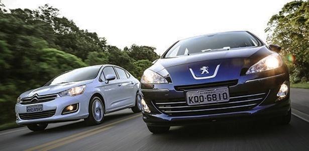 Citroën C4 Lounge e Peugeot 408, que compartilham a mesma base, fazem parte do mesmo recall  - Rafael Munhoz/Car and Driver