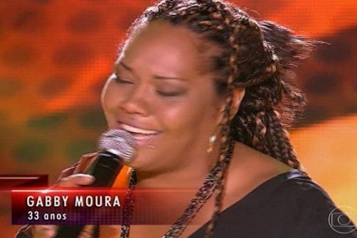 Claudia Leitte é a técnica escolhida por Gabby Moura, que interpretou
