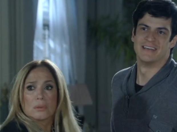 """Em """"Amor à Vida"""", Félix chama Aline de piranha na frente de César"""