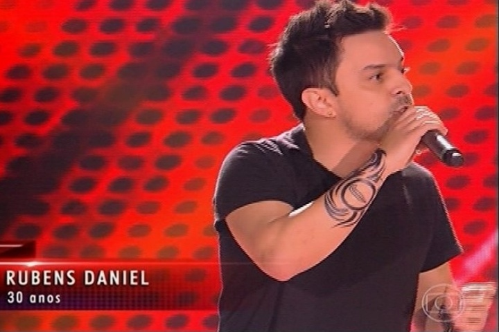 "Rubens Daniel escolhe Daniel como ténico após entoar ""I Wont Give Up"", de Jason Mraz"