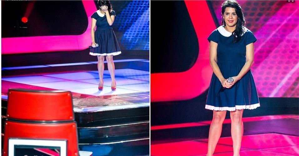 Simona Talma cantou