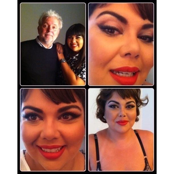 05.out.2013 - Fabiana Karla posa em trajes íntimos para o conceituado fotógrafo J.R Duran