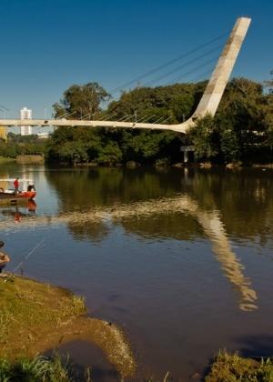 O rio de Piracicaba, que dá nome à cidade