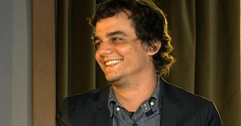06.out.2013 - Wagner Moura em entrevista para o