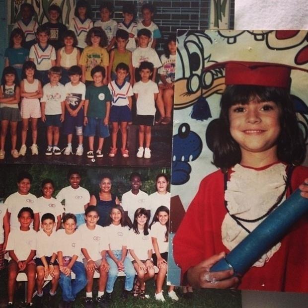 """7.ouy.2013- Thaila Ayala apoia manifestação de professores: """"Sempre estudei em escola pública , e se na minha época o negocio já era difícil, imagina agora... Por isso precisamos unir forças . Lutar muito pela educação!"""""""